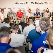 © Maria Muina I MAPFRE. Rueda de prensa de patrones. Skippers press conference.