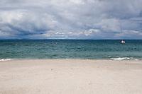 Beach on Inis Oirr the Aran Islands Galway Ireland