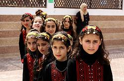 April 30, 2019 - Rafah, Gaza Strip, Palestine - Palestinian children at a festival in the institution OSO of ''Today the Palestinian child'' in Rafah, the southern Gaza Strip, on April 30, 2019. Photo by Abed Rahim Khatib/NurPhoto  (Credit Image: © Abed Rahim Khatib/NurPhoto via ZUMA Press)