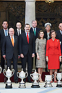 012117 Spanish Royals Deliver the National Sports Awards 2015
