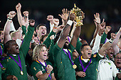 Rugby-World Cup Final-England vs South Africa-Nov 2, 2019