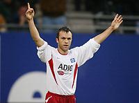 Fotball 25. september 2003, Bundesliga, 1-0  Jubel Bernardo ROMEO HSV Bundesliga Hamburger SV - FC Schalke 04