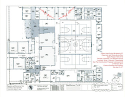 Key Plan 2 of 8: Central High School Bridgeport CT Expansion & Renovate as New. State of CT Project # 015--0174 Progress Submission 24 - 2 February 2017