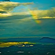 North America, United States, US, Northwest, Pacific Northwest, West, Alaska, Kobuk, Kobuk Valley, Kobuk Valley National Park, Kobuk Valley NP. Above Kobuk Valley National Park, Alaska.
