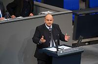 DEU, Deutschland, Germany, Berlin, 12.12.2017: Stephan Protschka (AfD, Alternative für Deutschland) bei einer Rede im Deutschen Bundestag.