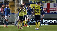 Football - 2016 / 2017 FA Cup - Second Round: Macclesfield Town vs. Oxford United<br /> <br /> Chris Maguire of Oxford United reacts during the match at Moss Rose Stadium.<br /> <br /> COLORSPORT/LYNNE CAMERON