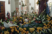Every 24th of August close to Esposende in the north of Portugal, a small neighbourhood celebrate Saint Bartholomew of the Sea. The celebration consist of a mass, the baptism of the children in the sea and a procession. A moment during the mass