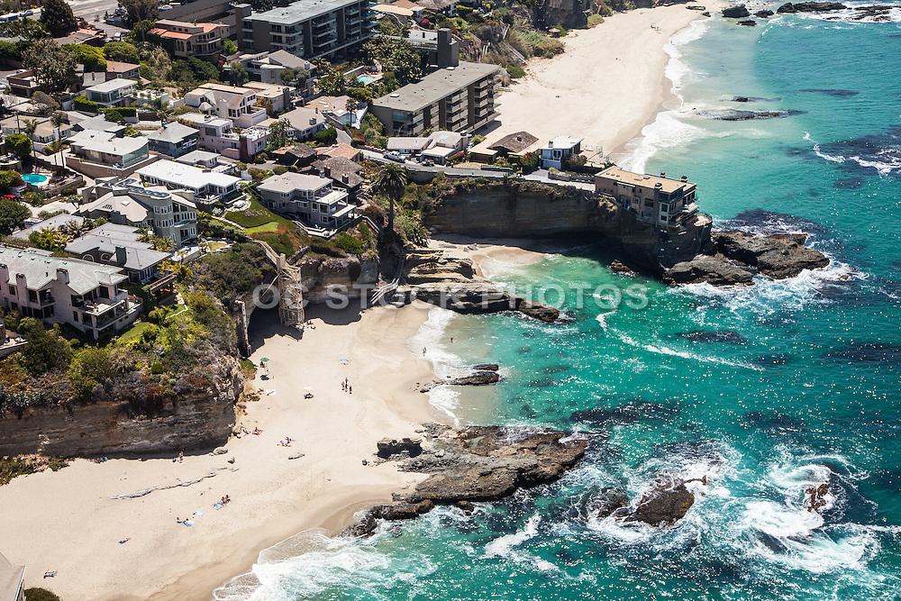 Laguna Beach Coastline Aerial