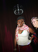 l to r: Tamar Kali and Ginny Suss at The ROOTS Present the Jam produced by Jill Newman Productions held at Highline Ballroom on April 29, 2009 in New York City