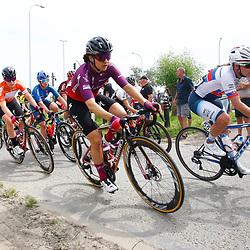 KNOKKE HEIST (BEL) July 10 CYCLING: 2nd Stage Baloise Belgium tour: Roxane Fournier: Lonneke Uneken