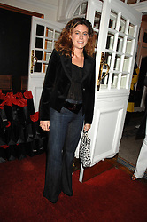FRANCESCA VERSACE at the Grand Classics screening of the film 'Don't Look Now' sponsored by Motorola held at The Electric Cinema, 181 Portobello Road, London W11 on 24th September 2007. <br /><br />NON EXCLUSIVE - WORLD RIGHTS