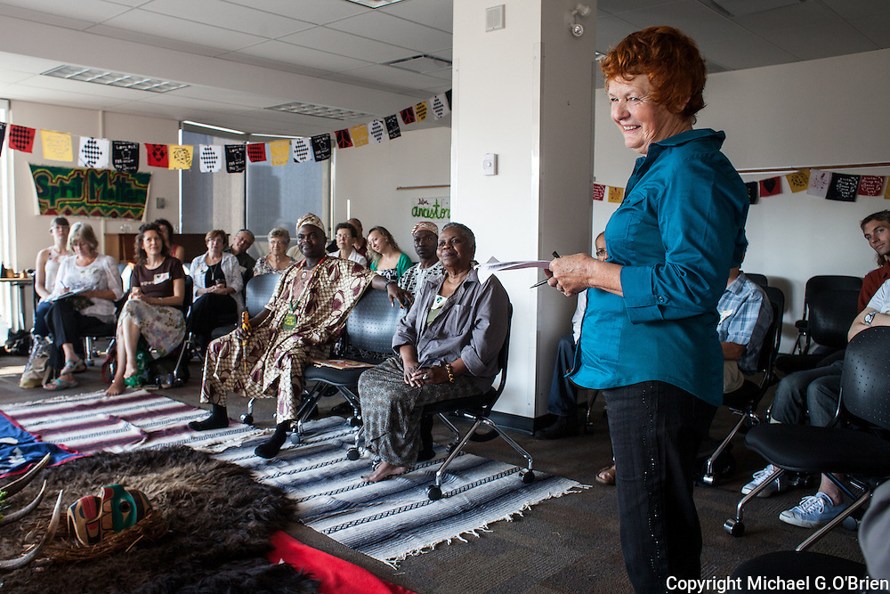 Spirit Matters is a gathering that brings together a diverse group of people to explore the issues surrounding spirituality in our time. Eimear O'Neill and Ed O'Sullivan are the founders and key organizers of the event.