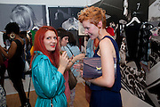 GEORGINA SCOTT; ANGELA BRANDY, PUMA/London College Of Fashion - private view. London College of Fashion at Carnaby, 65 - 67 Broadwick St, London W1,