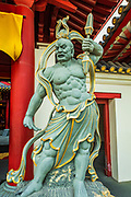 Statue at the Buddha Tooth Relic Temple and Museum, Singapore, Republic of Singapore