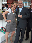 TANIA FOSTER-BROWN; NICK HOLLINGSWORTH, Alexandra Shulman, Editor of Vogue & Phil Popham, Managing Director of Land Rover<br /> host the 40th Anniversary of Range Rover. The Orangery at Kensington Palace. London. 1 July 2010. -DO NOT ARCHIVE-© Copyright Photograph by Dafydd Jones. 248 Clapham Rd. London SW9 0PZ. Tel 0207 820 0771. www.dafjones.com.
