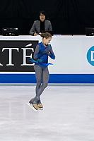 KELOWNA, BC - OCTOBER 26: Russian figure skater Alexandra Trusova competes during ladies long program of Skate Canada International held at Prospera Place on October 26, 2019 in Kelowna, Canada. (Photo by Marissa Baecker/Shoot the Breeze)