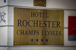 March 23, 2019 - Paris, France - Illustration hotel Rochester (Credit Image: © Panoramic via ZUMA Press)