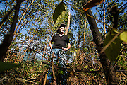Larry Vetter at the area of hills close to Danang, Vietnam that the Americans referred to as Charlie Ridge. Mr. Vetter used to run reconnaissance operations as a Marine in this Area. Christian Berg for the New York Times.