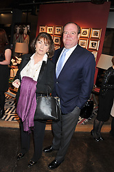JEREMY SOAMES and SUSANNA SOAMES at a party to celebrate the publication of Folly de Grandeur: Romance and Revival in an English Country House by Nicky Haslam held at Oka, 155-167 Fulham Road, London on 21st March 2013.