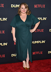 Danielle Macdonald attends the premiere of Netflix's 'Dumplin'' at TCL Chinese 6 Theatres on December 6, 2018 in Los Angeles, CA, USA. Photo by Lionel Hahn/ABACAPRESS.COM