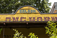 Western Village Haikyo, Abandoned Saloon - <br /> Japan is a country associated with serene temples, exquisite gardens and cherry blossoms.  It is the last place you'd expect to a Wild West theme park.  Perhaps that is why it officially closed down to the public in 2007, but is still popular with explorers who still go there and try to imagine what it was like to travel back in time to the American Wild West for the afternoon amidst all the rubble, saloons and fading attractions.  It now more closely resembles a horror movie movie set, but never mind.  The place is fascinating on so many levels, that if visitors happen to be in the Nikko area, it is definitely a must, at least get a gander of the replica Mount Rushmore mountain as the train passes by.  If you dare to enter (it is officially off limits but has easy access) you may be either creeped out by all the dishevelment and weeds or you may find yourself fascinated.  It's at your own risk, but true aficionados of haikyo, abandoned buildings and theme parks will be unable to resist.