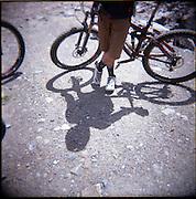 Holga images in the Portes du Soleil, France 2011