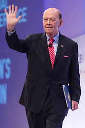 © Licensed to London News Pictures. 06/11/2017. London, UK. United States Secretary of Commerce WILBUR ROSS makes a speech at the Confederation of British Industry (CBI) conference, held at Intercontinental Hotel. Photo credit: Ray Tang/LNP