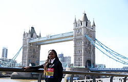 Ethiopia's Tirunesh Dibaba poses during the media day at Tower Hotel London. PRESS ASSOCIATION Photo. Picture date: Wednesday April 18, 2018. Photo credit should read: Steven Paston/PA Wire
