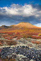 Clouds over the Ogilvie Mountains, Tombstone Territorial Park Yukon Canada