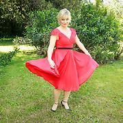 ITA/Lucca /20130521 - Presenttie Cast film De Toscaanse Bruiloft, Martine Sandifort