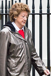 Downing Street, London, November 24th 2015. Minister of State at the Foreign & Commonwealth Office, Baroness Anelay arrives at Downing Street for the weekly cabinet meeting. ///FOR LICENCING CONTACT: paul@pauldaveycreative.co.uk TEL:+44 (0) 7966 016 296 or +44 (0) 20 8969 6875. ©2015 Paul R Davey. All rights reserved.