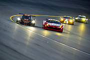 August 17, 2013: Grand Am Kansas. Max Angelelli, Jordan Taylor, Wayne Taylor Racing, Emil Assentato<br />    Anthony LazzaroAIM Autosport