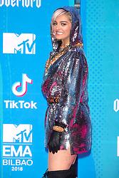 November 4, 2018 - Bilbao, Bizkaia, Spanien - Bebe Rexha bei der Verleihung der MTV European Music Awards 2018 in der Bizkaia Arena. Bilbao, 04.11.2018 (Credit Image: © Future-Image via ZUMA Press)