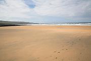 Sandy Fanore beach, near Ballyvaughan, County Clare, Ireland