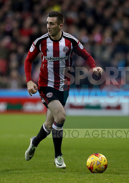 Daniel Lafferty of Sheffield United during the English Football League One match at Bramall Lane, Sheffield. Picture date: December 10th, 2016. Pic Jamie Tyerman/Sportimage