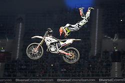 20.03.2015, Tauron Arena, Krakau, POL, Diverse night of the Jumps, FMX Weltmeisterschaft 2015, im Bild MAIKEL MELERO (HISZPANIA) // during the diverse night of the jumps FMX world championchip 2015 at the Tauron Arena in Krakau, Poland on 2015/03/20. EXPA Pictures © 2015, PhotoCredit: EXPA/ Newspix/ MAREK KLIMEK/NEWSPIX.PL<br /> <br /> *****ATTENTION - for AUT, SLO, CRO, SRB, BIH, MAZ, TUR, SUI, SWE only*****