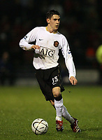 Photo: Rich Eaton.<br /> <br /> Crewe Alexander v Manchester United. Carling Cup. 25/10/2006. Kieran Lee who scored the last minute winner for Manchester United