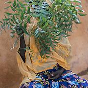 Sadio (51) cured of Fistula which she got through hysterectomy. Kayes, Mali.