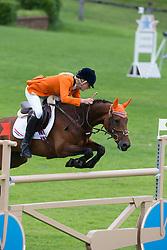 Bruin Leontine (NED) - Scapa SB<br /> European Championship Poney - Fontainebleau 2012<br /> © Dirk Caremans
