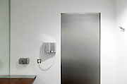 a modern washroom in public toilet facility