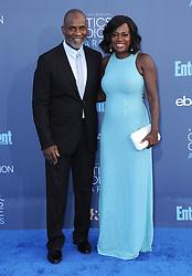 Julius Tennon, Viola Davis  bei der Verleihung der 22. Critics' Choice Awards in Los Angeles / 111216