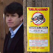 Illinois Gov. Rod Blagojevich leaves his home on December 11, 2008 in Chicago. Blagojevich was arrested on December 9 and charged with one count of conspiracy to commit mail and wire fraud and one count of soliciting bribes. (Getty Images)