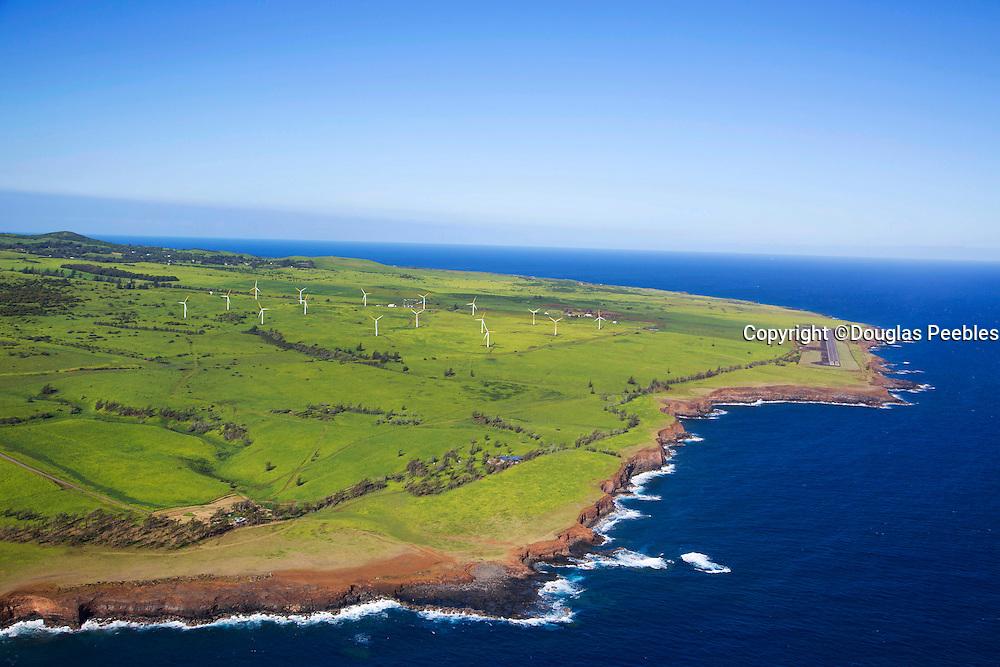 Windmills, North Kohala, Big Island of Hawaii