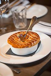 The lamb pie. Tam Cowan restaurant review, The Printing Press, Carlton George Hotel, George Street, Edinburgh