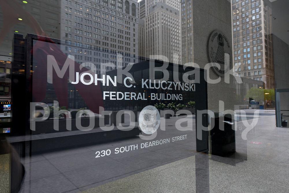 John C. Kluczynski federal building in Chicago, Illinois. Photo by Mark Black
