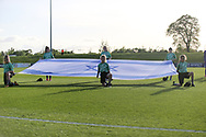 Israel flag during the UEFA European Under 17 Championship 2018 match between Israel and Italy at St George's Park National Football Centre, Burton-Upon-Trent, United Kingdom on 10 May 2018. Picture by Mick Haynes.