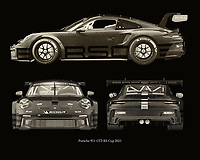 The most iconic Porsche model is by far the Porsche 911. More and more sophisticated models of the Porsche 911 have been made over time. With the RS, the 2021 racing version, Porsche has surpassed itself. The Porsche 911 GT-3 RS 2021 is therefore unrivalled in design and power. –<br /> -<br /> BUY THIS PRINT AT<br /> <br /> FINE ART AMERICA<br /> ENGLISH<br /> https://janke.pixels.com/featured/10-porsche-911-gt-3-rs-2021-jan-keteleer.html<br /> <br /> WADM / OH MY PRINTS<br /> DUTCH / FRENCH / GERMAN<br /> https://www.werkaandemuur.nl/nl/shopwerk/Porsche-911-GT-3-RS---Cup-2021-zijden/788377/132?mediumId=15&size=70x55<br /> -<br /> -
