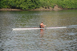 Boathouse Row area along the Schuylkill River, scullers rowing..Philadelphia, Pennsylvania, PA USA.  Photo copyright Lee Foster, 510-549-2202, lee@fostertravel.com, www.fostertravel.com. Photo 316b-30195