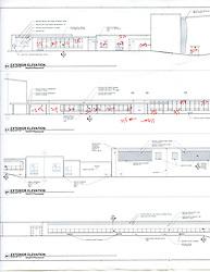 Sarah Gibbons Middle School Pre-Demolition Documentation. Key Plan Number 9 of 15