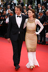 August Diehl and Valerie Pachner attend the screening of A Hidden Life (Une Vie Cachee) during the 72nd annual Cannes Film Festival on May 19, 2019 in Cannes, France. Photo by Shootpix/ABACAPRESS.COM